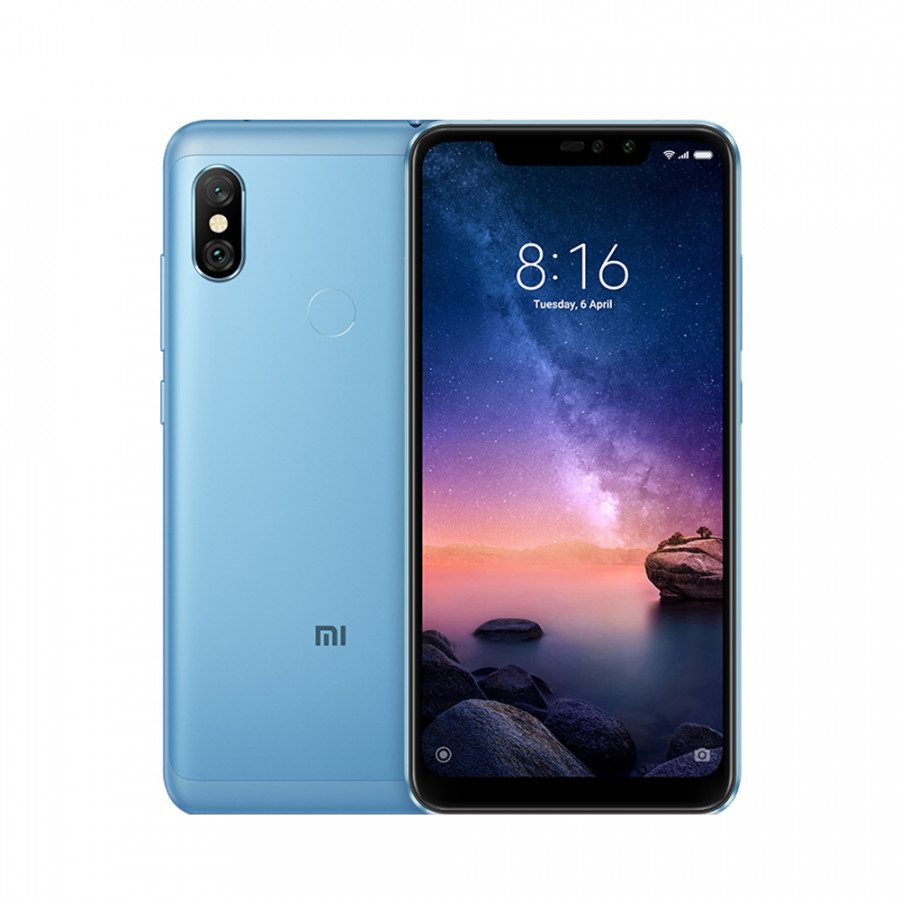 Global Version Xiaomi Redmi Note 6 Pro Face ID Mobile Phone 4GB 6.26inch Full Screen 20MP Snapdragon 636 Octa Core