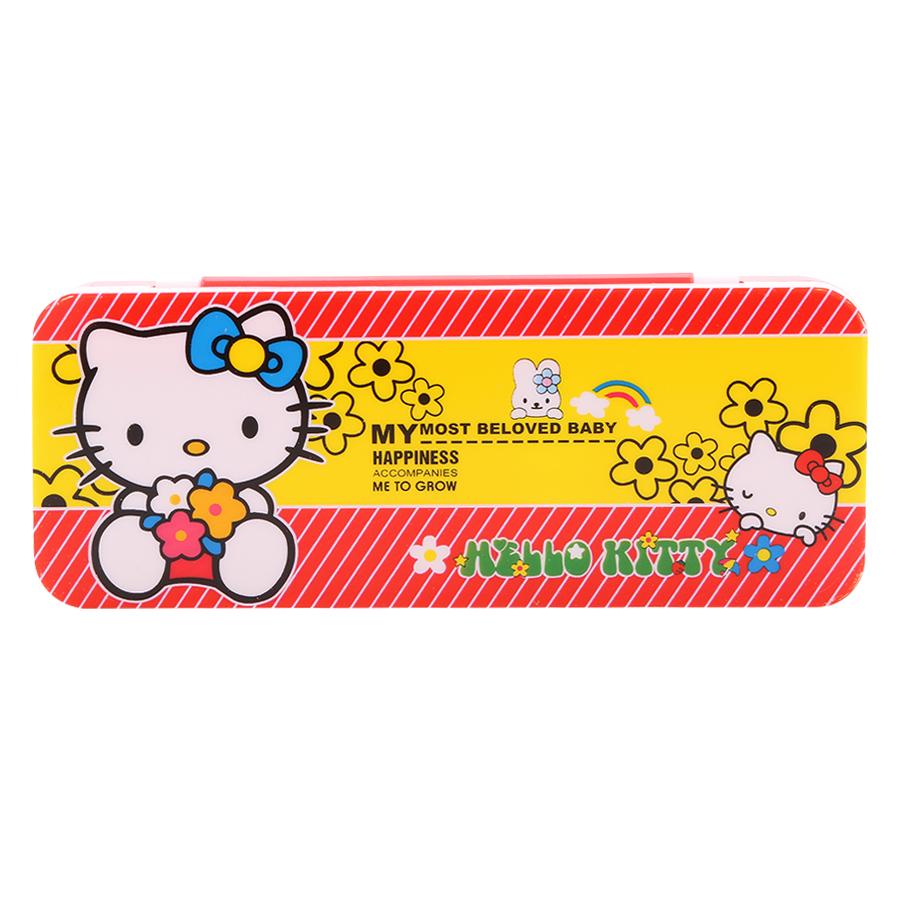 Hộp Bút Nhựa 59B- Kitty( Màu Ngẫu Nhiên)