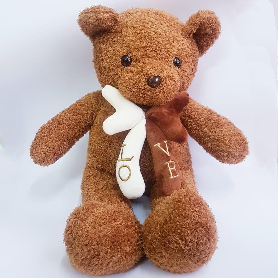 Gấu bông teddy nơ dễ thương 70cm