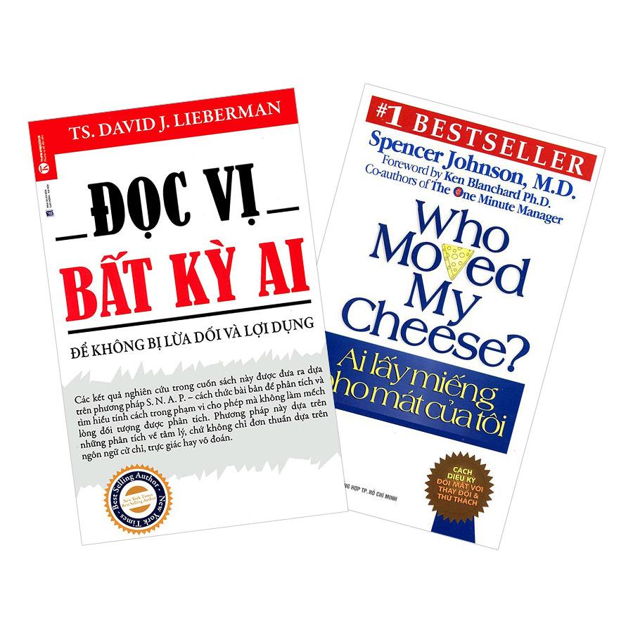 Combo Đọc Vị Bất Kỳ Ai + Ai Lấy Miếng Pho Mát Của Tôi (2 cuốn)