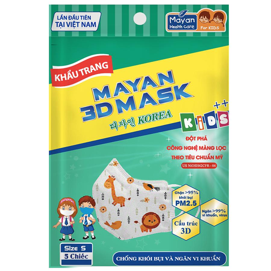 Khẩu Trang Mayan 3D Medi Baby PM2.5 - 1052287 , 8936010541252 , 62_3567177 , 18000 , Khau-Trang-Mayan-3D-Medi-Baby-PM2.5-62_3567177 , tiki.vn , Khẩu Trang Mayan 3D Medi Baby PM2.5