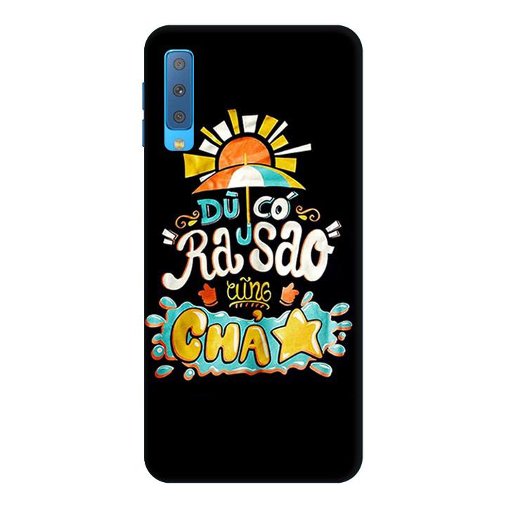 Ốp Lưng Dành Cho Điện Thoại Samsung Galaxy A7 2018 Độc Lạ Mẫu 1