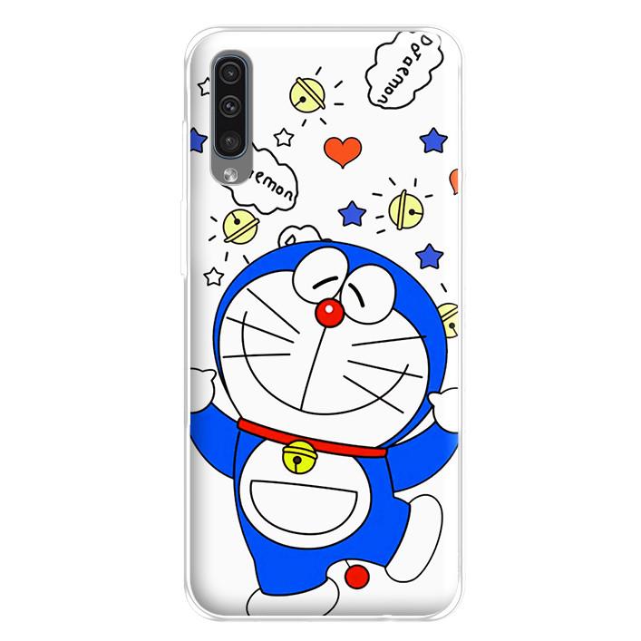 Ốp lưng dẻo cho điện thoại Samsung Galaxy A50 - 224 0022 DOREMON05