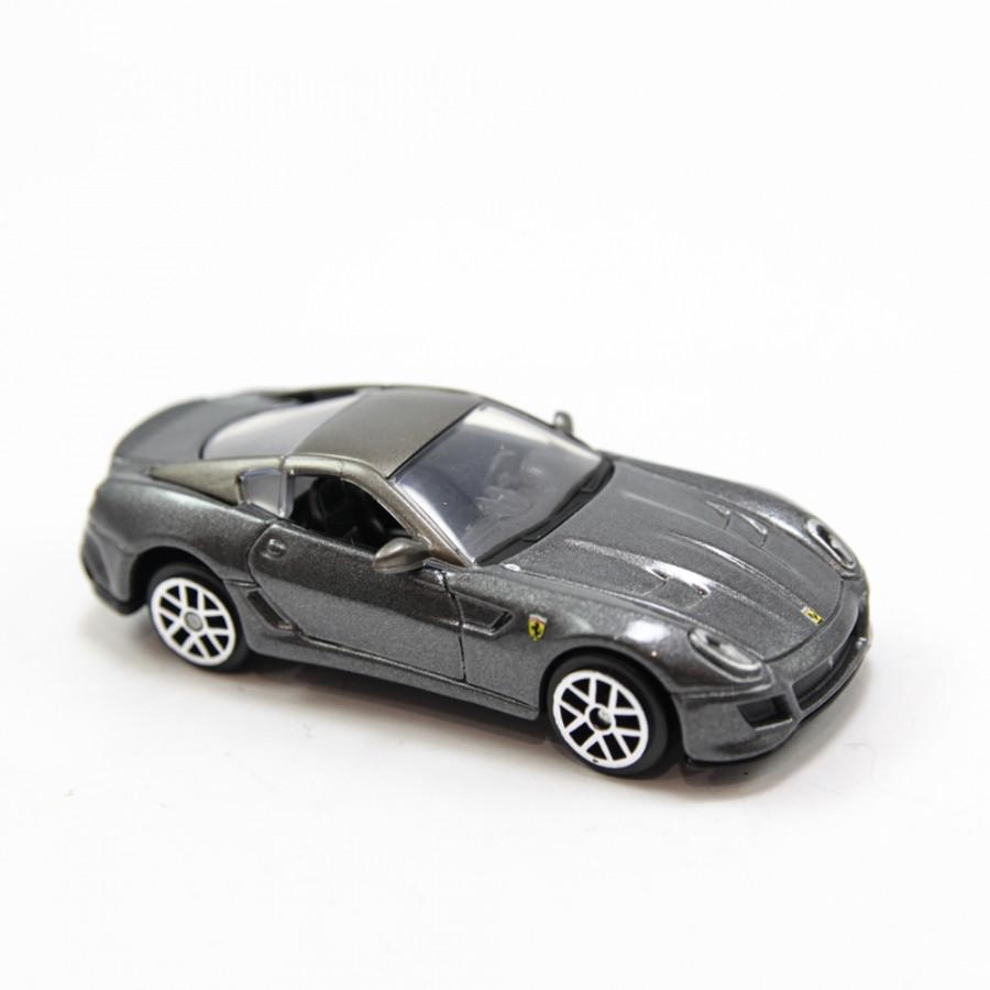 FERRARI 599 GTO GREY 1:64 BBURAGO