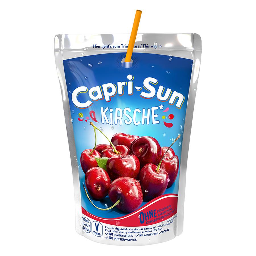 Nước Trái Cây Capri Sun Vị Anh Đào (200ml)