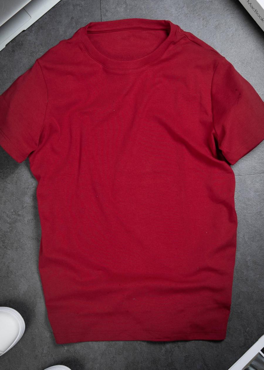 Set 2 Áo Thun Đỏ Nam vnxk Cao Cấp US001