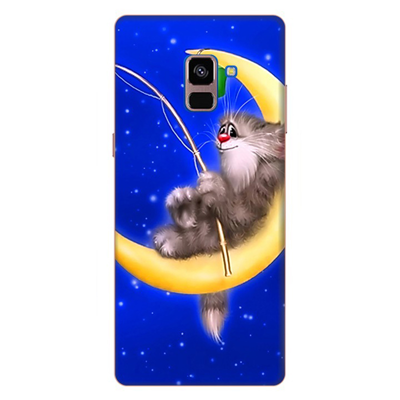 Ốp Lưng Cho Samsung Galaxy A8 Plus 2018 - Mẫu 58