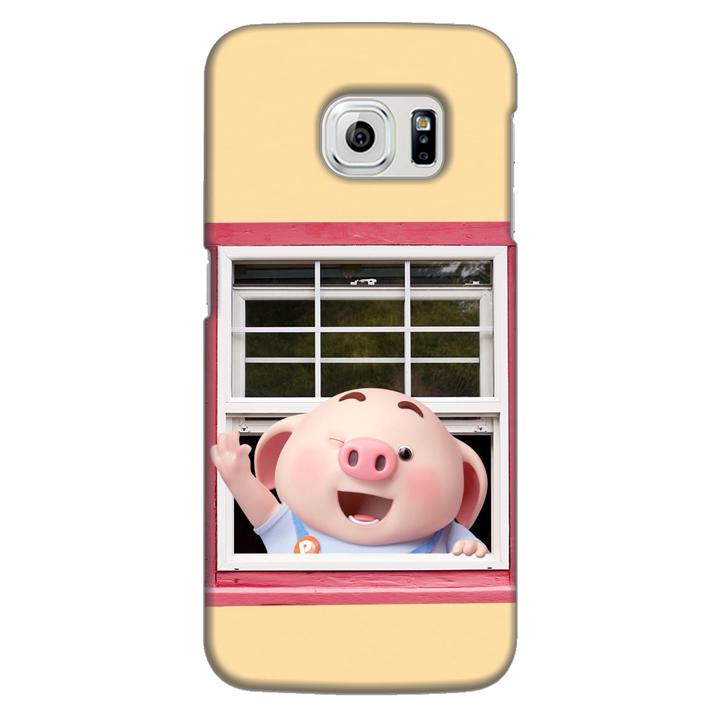 Ốp lưng nhựa cứng nhám dành cho Samsung Galaxy S6 Edge in hình Heo Con Chào Ngày Mới - 1712184 , 6215041984361 , 62_11902047 , 200000 , Op-lung-nhua-cung-nham-danh-cho-Samsung-Galaxy-S6-Edge-in-hinh-Heo-Con-Chao-Ngay-Moi-62_11902047 , tiki.vn , Ốp lưng nhựa cứng nhám dành cho Samsung Galaxy S6 Edge in hình Heo Con Chào Ngày Mới