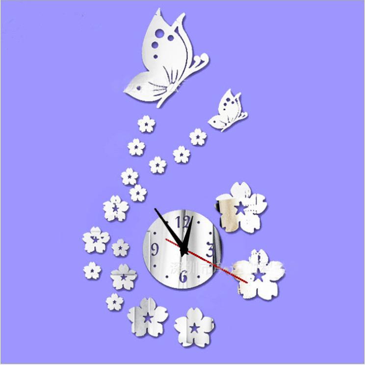 Đồng hồ 3d treo tường bướm - 2099642 , 5502891988634 , 62_13153211 , 180000 , Dong-ho-3d-treo-tuong-buom-62_13153211 , tiki.vn , Đồng hồ 3d treo tường bướm