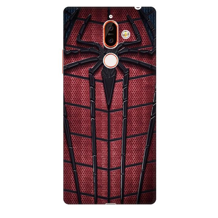 Ốp lưng nhựa cứng nhám dành cho Nokia 7 Plus in hình Siêu Anh Hùng