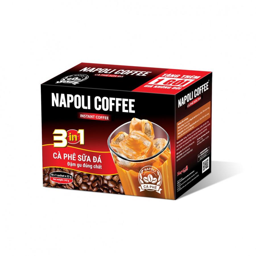 Cà phê sữa đá Napoli 3in1 ( 10 gói)