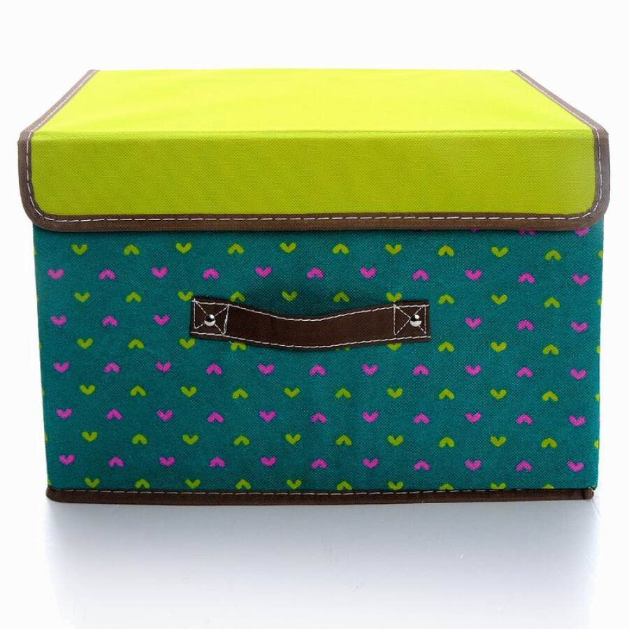 KongJianYouPin dot storage box / clothing storage box sundries storage box one 36L blue large