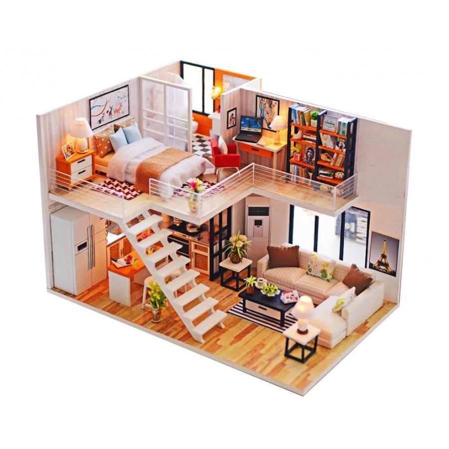 Mô hình nhà búp bê gỗ Cute Room - Biệt thự của sự Đơn giản và Thời thượng - Style Minimalism - 1012771 , 1541808649354 , 62_2843653 , 750000 , Mo-hinh-nha-bup-be-go-Cute-Room-Biet-thu-cua-su-Don-gian-va-Thoi-thuong-Style-Minimalism-62_2843653 , tiki.vn , Mô hình nhà búp bê gỗ Cute Room - Biệt thự của sự Đơn giản và Thời thượng - Style Minimalism