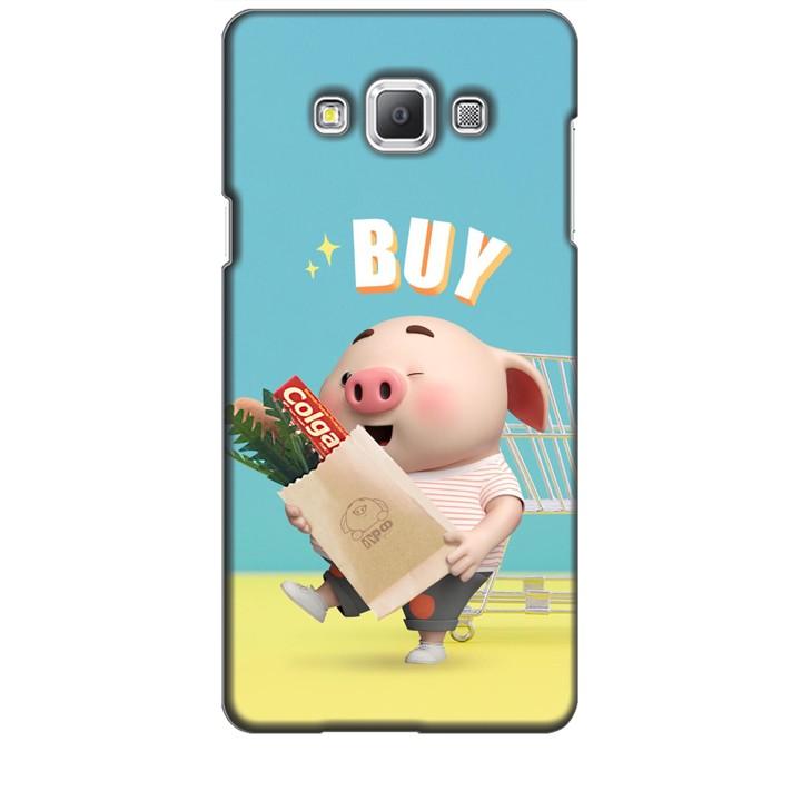Ốp Lưng Dành Cho Điện Thoại  Samsung Galaxy A7 Heo Con Mua Sắm