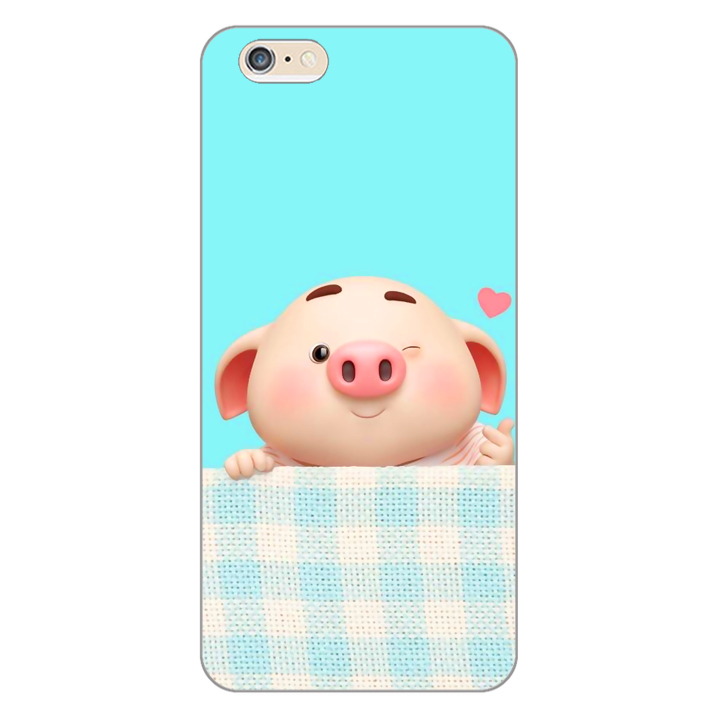 Ốp lưng dẻo cho điện thoại Apple iPhone 6 Plus / 6s Plus _Pig Cute 07 - 1562807 , 2736643153152 , 62_10170636 , 200000 , Op-lung-deo-cho-dien-thoai-Apple-iPhone-6-Plus--6s-Plus-_Pig-Cute-07-62_10170636 , tiki.vn , Ốp lưng dẻo cho điện thoại Apple iPhone 6 Plus / 6s Plus _Pig Cute 07
