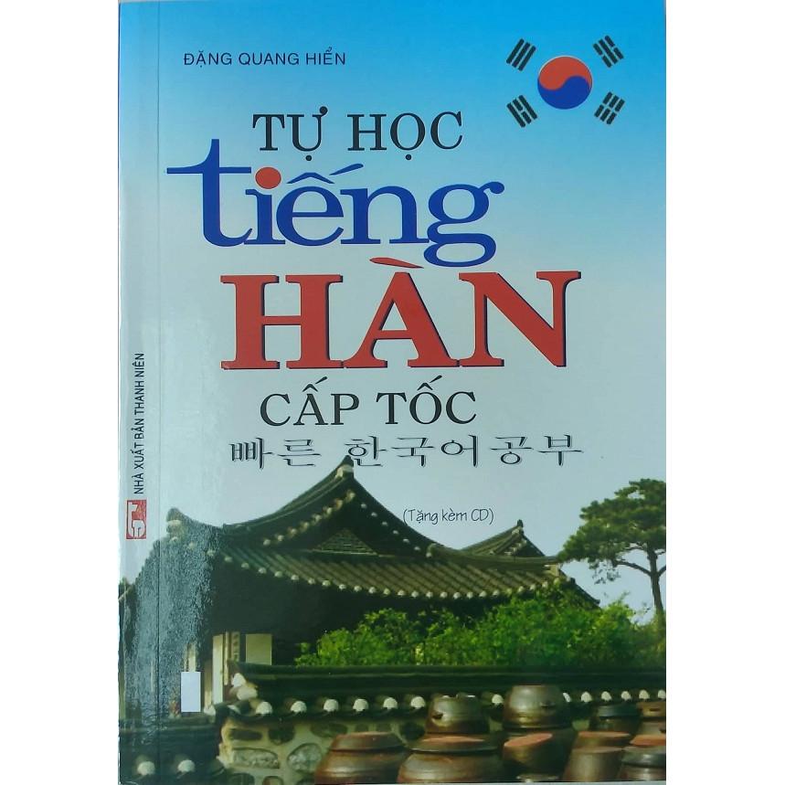 Tự Học Tiếng Hàn Cấp Tốc (Tặng Kèm CD)