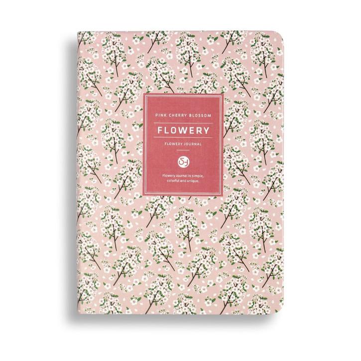Sổ kế hoạch lịch trình Flowery Kawaii