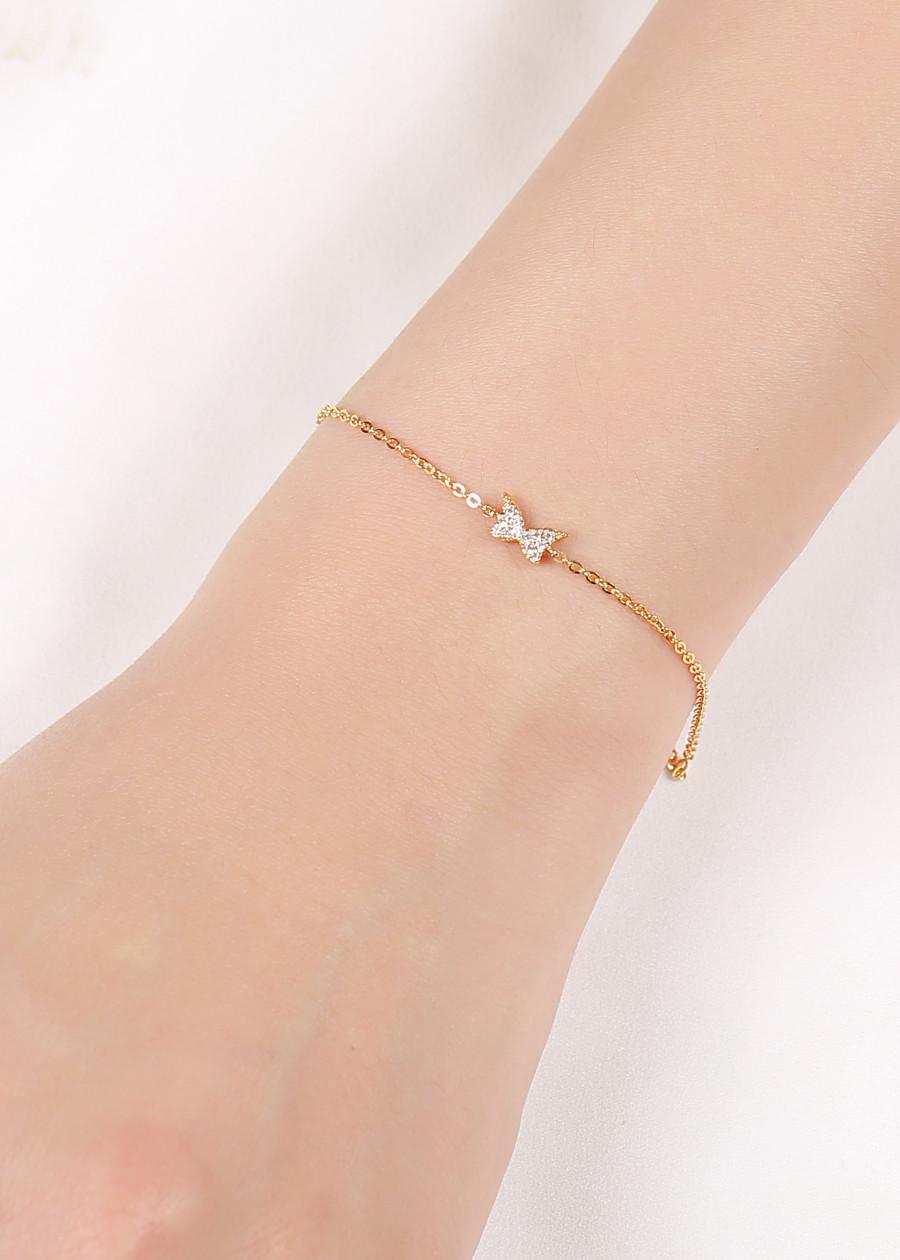 Lắc Tay Nữ Vàng Huy Thanh Jewelry LLF49