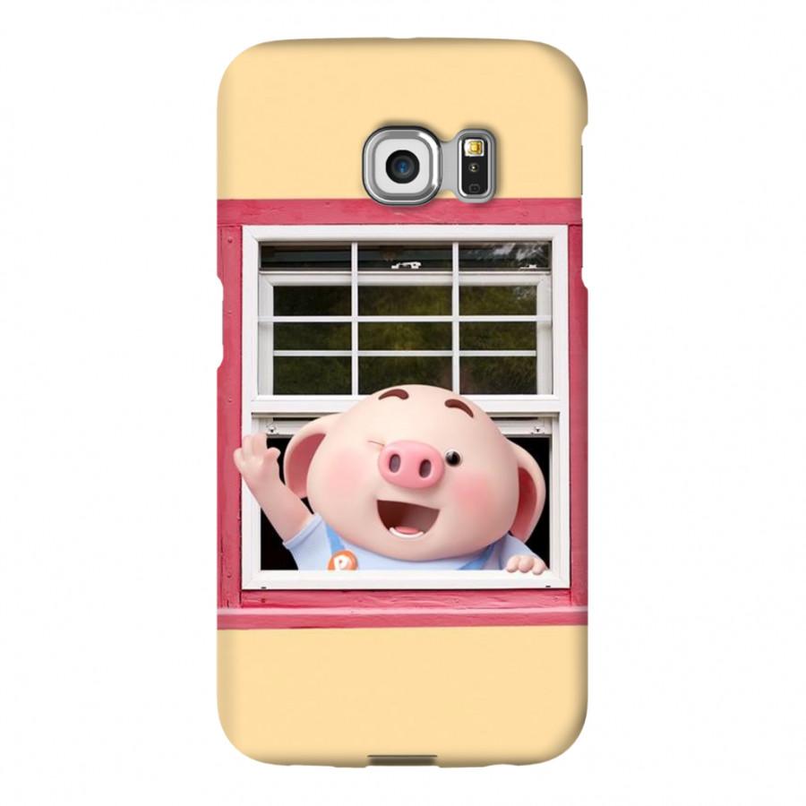 Ốp Lưng Cho Điện Thoại Samsung Galaxy S6 Edge - Mẫu heocon 013