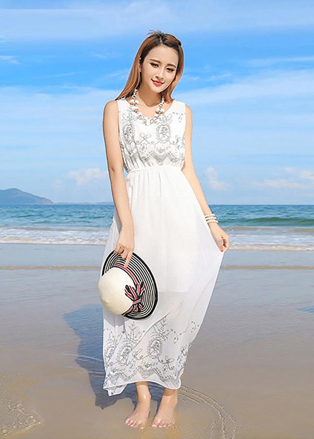 1158483498032 - Váy, đầm maxi voan dạo chơi, đi biển 06