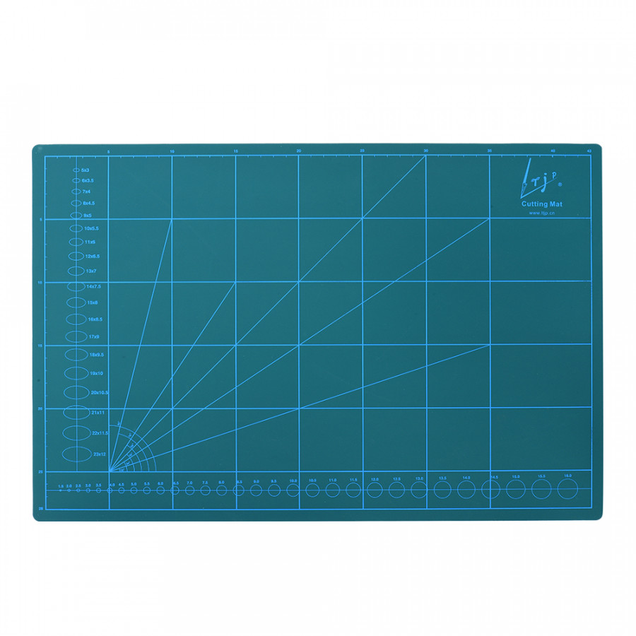 Double-Sided Self Healing Rotary Cutting Mat Non-Slip PVC for Hobby Fabric Cutter Craft Knife Set, A4 - 2371865 , 4666082321332 , 62_15533756 , 248000 , Double-Sided-Self-Healing-Rotary-Cutting-Mat-Non-Slip-PVC-for-Hobby-Fabric-Cutter-Craft-Knife-Set-A4-62_15533756 , tiki.vn , Double-Sided Self Healing Rotary Cutting Mat Non-Slip PVC for Hobby Fabric C