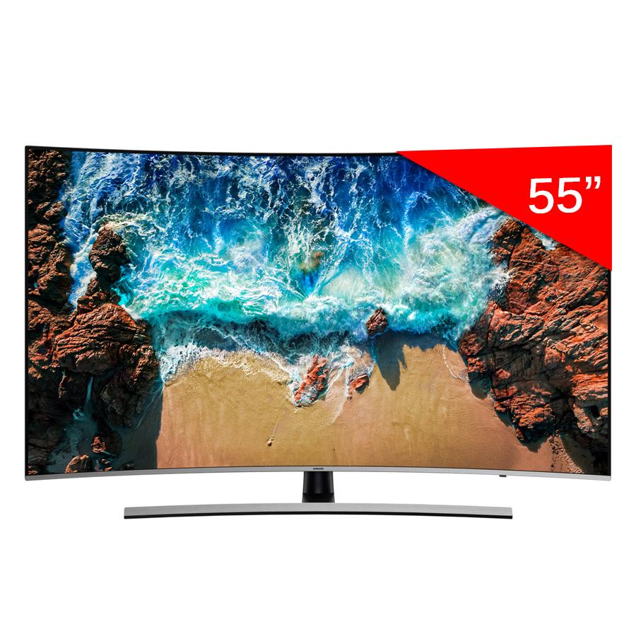 Smart Tivi Màn Hình Cong Samsung 55 inch UHD 4K UA55NU8500KXXV