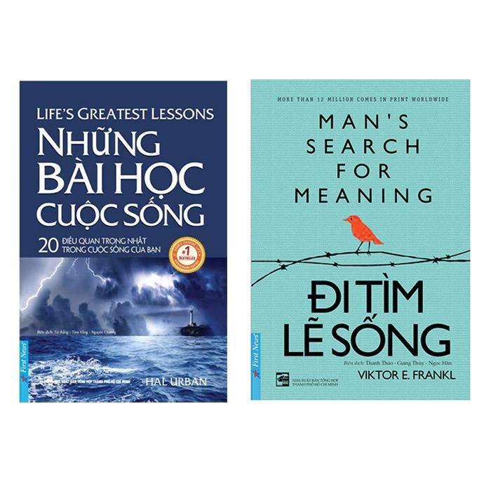 Combo Những Bài Học Cuộc Sống (Tái Bản) + Đi Tìm Lẽ Sống (2 cuốn) - 1925982 , 1429391075753 , 62_14764338 , 122000 , Combo-Nhung-Bai-Hoc-Cuoc-Song-Tai-Ban-Di-Tim-Le-Song-2-cuon-62_14764338 , tiki.vn , Combo Những Bài Học Cuộc Sống (Tái Bản) + Đi Tìm Lẽ Sống (2 cuốn)