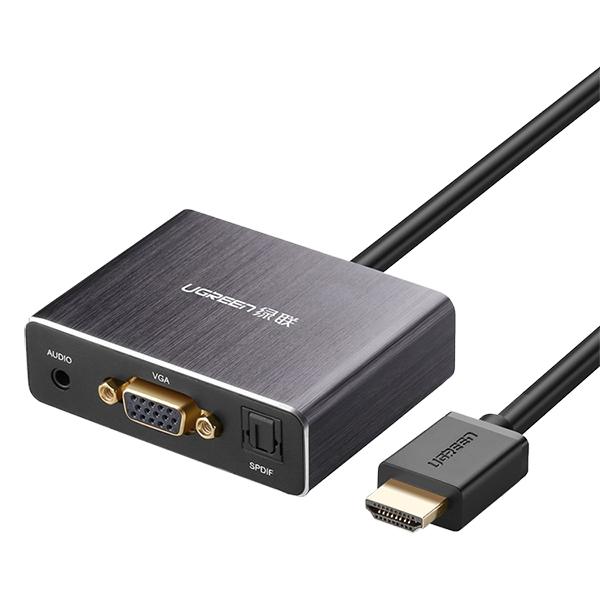 Bộ Chuyển Đổi Ugreen HDMI Sang VGA Cổng Quang SPDIF 5.1 Audio 3.5mm 40282 - Hàng Chính hãng - 3791216975707,62_10130910,669000,tiki.vn,Bo-Chuyen-Doi-Ugreen-HDMI-Sang-VGA-Cong-Quang-SPDIF-5.1-Audio-3.5mm-40282-Hang-Chinh-hang-62_10130910,Bộ Chuyển Đổi Ugreen HDMI Sang VGA Cổng Quang SPDIF 5.1 Audio 3.5mm 40282 - Hàng Chính hãng