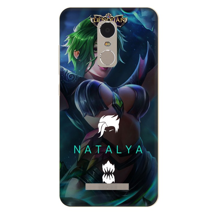 Ốp lưng nhựa cứng nhám dành cho Xiaomi Redmi Note 3 in hình Natalya