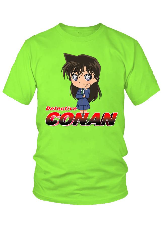 Áo thun nữ Detective Conan Ran Chibi M24