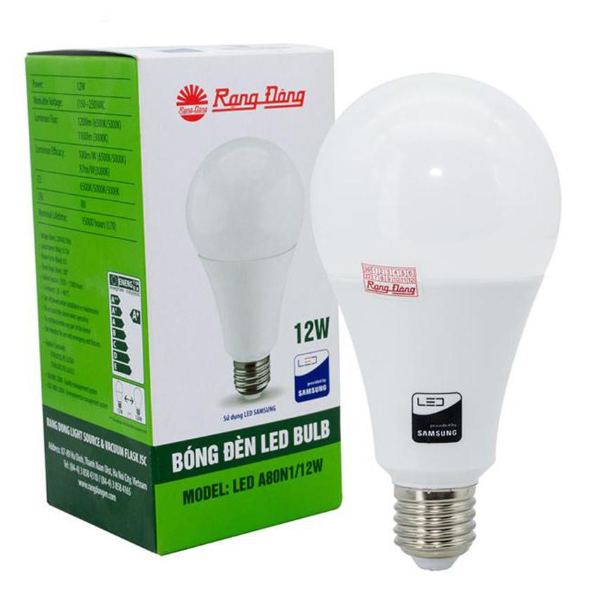 Bộ 06 Bóng đèn LED tròn 12W Rạng Đông, Model LED A70N1/12w - 1431938 , 3129112362947 , 62_7478737 , 415800 , Bo-06-Bong-den-LED-tron-12W-Rang-Dong-Model-LED-A70N1-12w-62_7478737 , tiki.vn , Bộ 06 Bóng đèn LED tròn 12W Rạng Đông, Model LED A70N1/12w