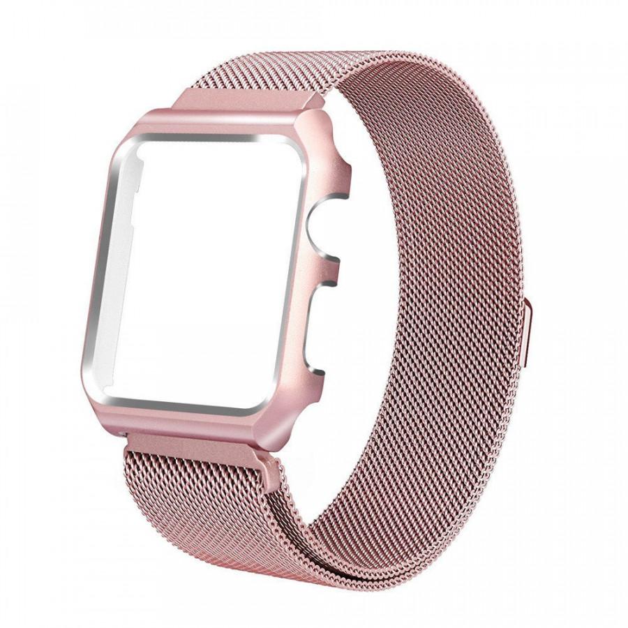 Dây đồng hồ cho Apple Watch, Dây Mloop lưới thép kèm ốp cho Apple Watch - 2113436 , 2448080580452 , 62_13367745 , 520000 , Day-dong-ho-cho-Apple-Watch-Day-Mloop-luoi-thep-kem-op-cho-Apple-Watch-62_13367745 , tiki.vn , Dây đồng hồ cho Apple Watch, Dây Mloop lưới thép kèm ốp cho Apple Watch