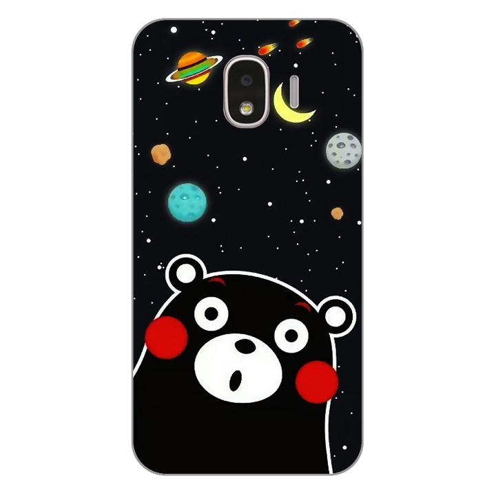 Ốp lưng dẻo Nettacase cho điện thoại Samsung Galaxy J2 Pro_0345 BEAR03 - Hàng Chính Hãng