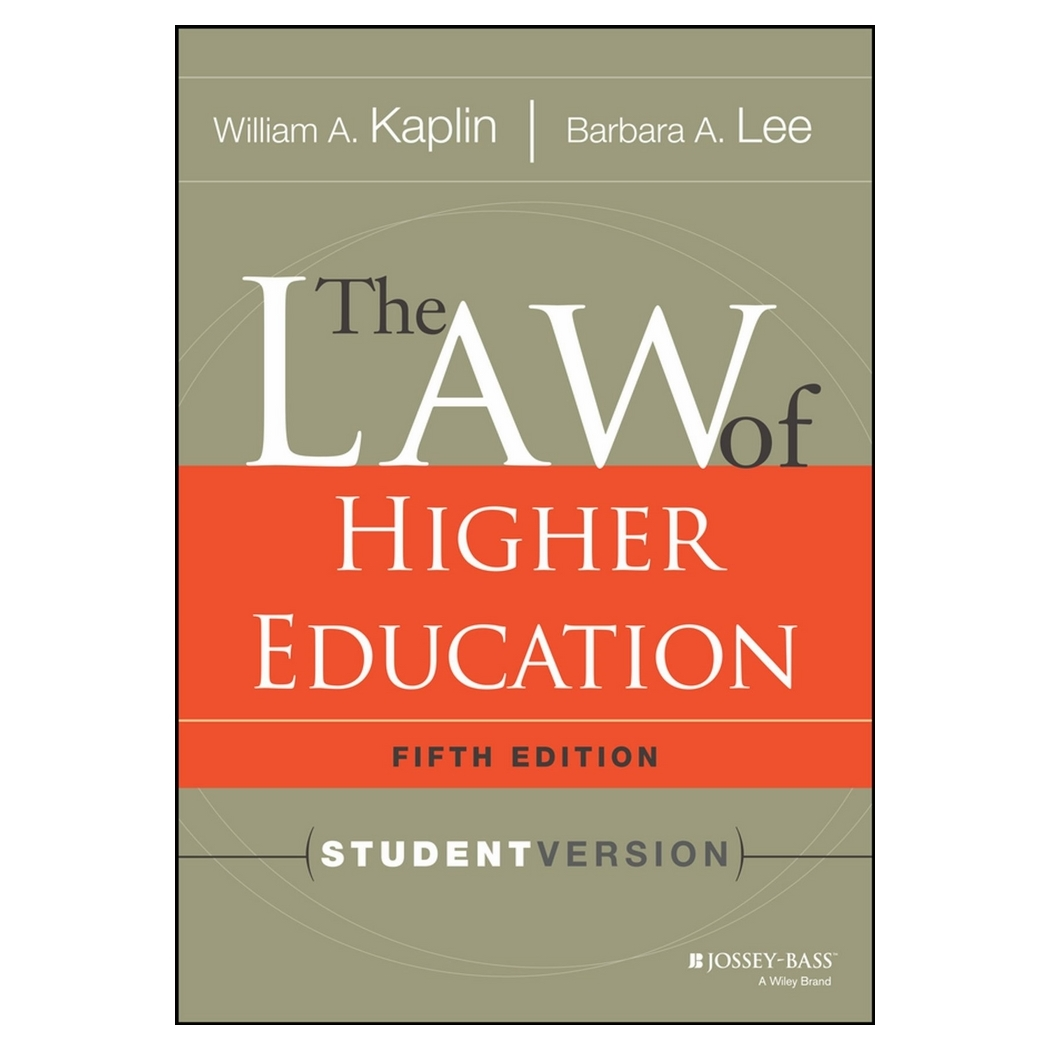 The Law Of Higher Education, Fifth Edition: Student Version - 18737754 , 2469571696896 , 62_28601443 , 2854000 , The-Law-Of-Higher-Education-Fifth-Edition-Student-Version-62_28601443 , tiki.vn , The Law Of Higher Education, Fifth Edition: Student Version