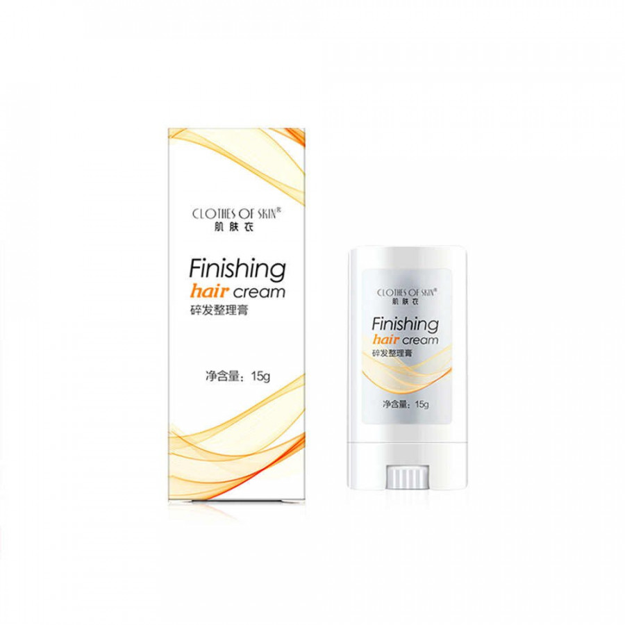 Broken Finishing Hair Cream Travel Size Styling Paste Dry Hair Styling Not Greasy Shaping Gel Cream Hair Wax Stick