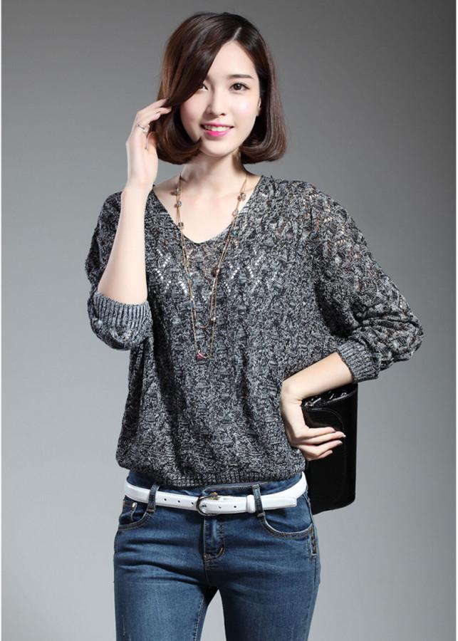 Áo len phong cách - 85008