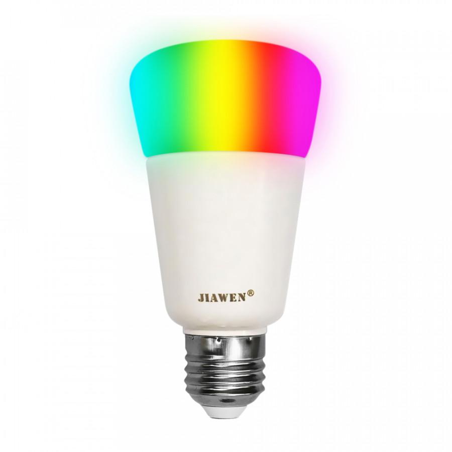 AC100-240V 9W RGBW Intelligent Bulb(Zigbee Version) E27 Base Socket Holder Supported Smart Phone App Control/ Color