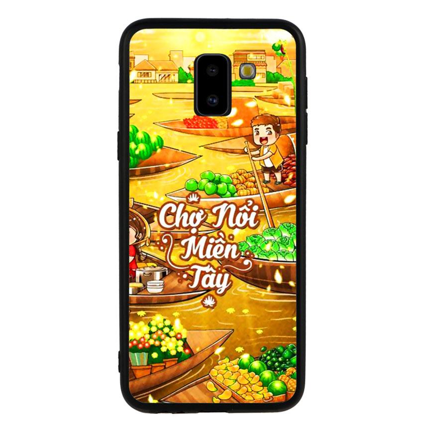 Ốp Lưng Viền TPU cho điện thoại Samsung Galaxy J6 2018 -Chợ Nổi Miền Tây