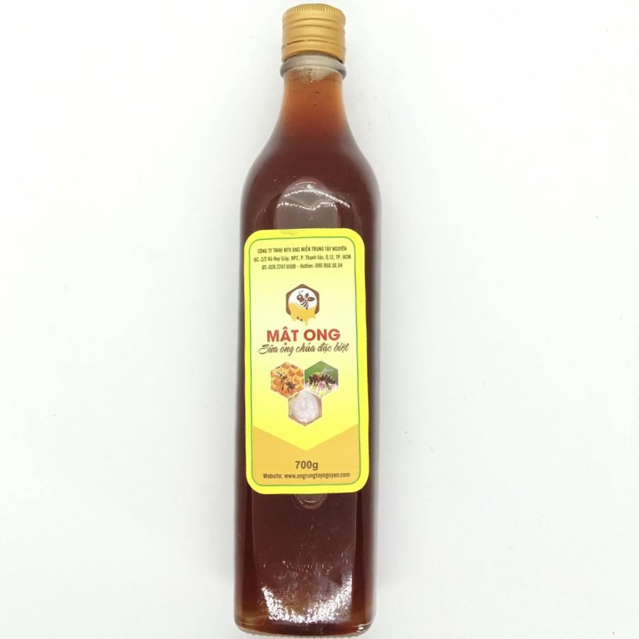 Mật ong sữa ong chúa Ong Rừng Tây Nguyên (700g)