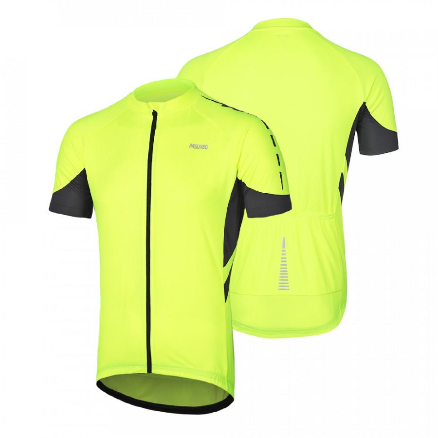 Arsuxeo Men Cycling Jersey Half Sleeve Biking Top Outdoor Sport Wear Bike Shirt - 2231780 , 8800437022437 , 62_14336865 , 429000 , Arsuxeo-Men-Cycling-Jersey-Half-Sleeve-Biking-Top-Outdoor-Sport-Wear-Bike-Shirt-62_14336865 , tiki.vn , Arsuxeo Men Cycling Jersey Half Sleeve Biking Top Outdoor Sport Wear Bike Shirt