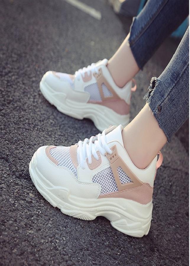 Giày Sneaker Nữ Độn Đế Đẹp phong cách Hàn Quốc - 2149513 , 3744584858295 , 62_13719063 , 1150000 , Giay-Sneaker-Nu-Don-De-Dep-phong-cach-Han-Quoc-62_13719063 , tiki.vn , Giày Sneaker Nữ Độn Đế Đẹp phong cách Hàn Quốc