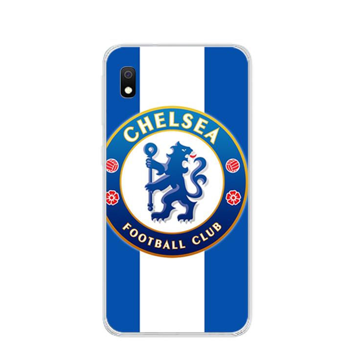 Ốp lưng dẻo cho điện thoại Samsung Galaxy A10 - 0304 CLBCHELSEA01 - Hàng Chính Hãng