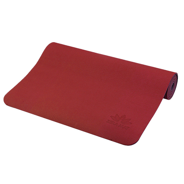Thảm Tập Yoga Zera Mat 6mm 1 Lớp Màu Đỏ