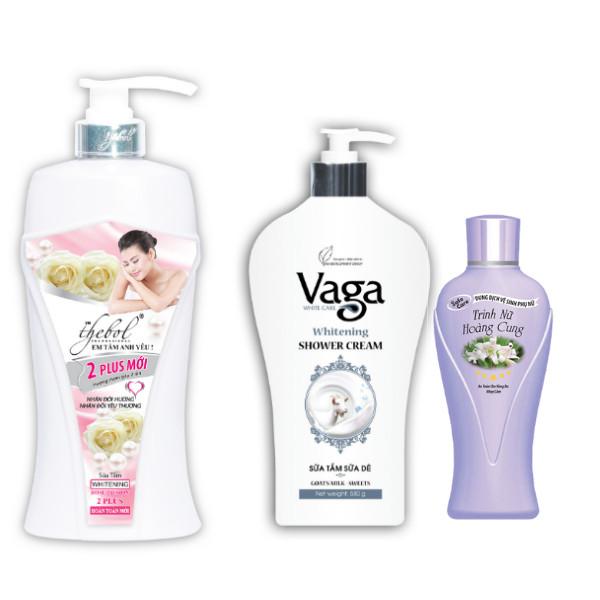 Combo sữa tắm thảo dược tinh chất ngọc trai nước hoa Thebol 1.2 kg + sữa tắm chiết xuất tinh chất sữa dê Vaga 400g...