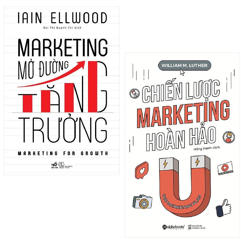 Combo Marketing Mở Đường Tăng Trưởng + Chiến Lược Marketing Hoàn Hảo - 1580972 , 7668801595588 , 62_11612511 , 247000 , Combo-Marketing-Mo-Duong-Tang-Truong-Chien-Luoc-Marketing-Hoan-Hao-62_11612511 , tiki.vn , Combo Marketing Mở Đường Tăng Trưởng + Chiến Lược Marketing Hoàn Hảo