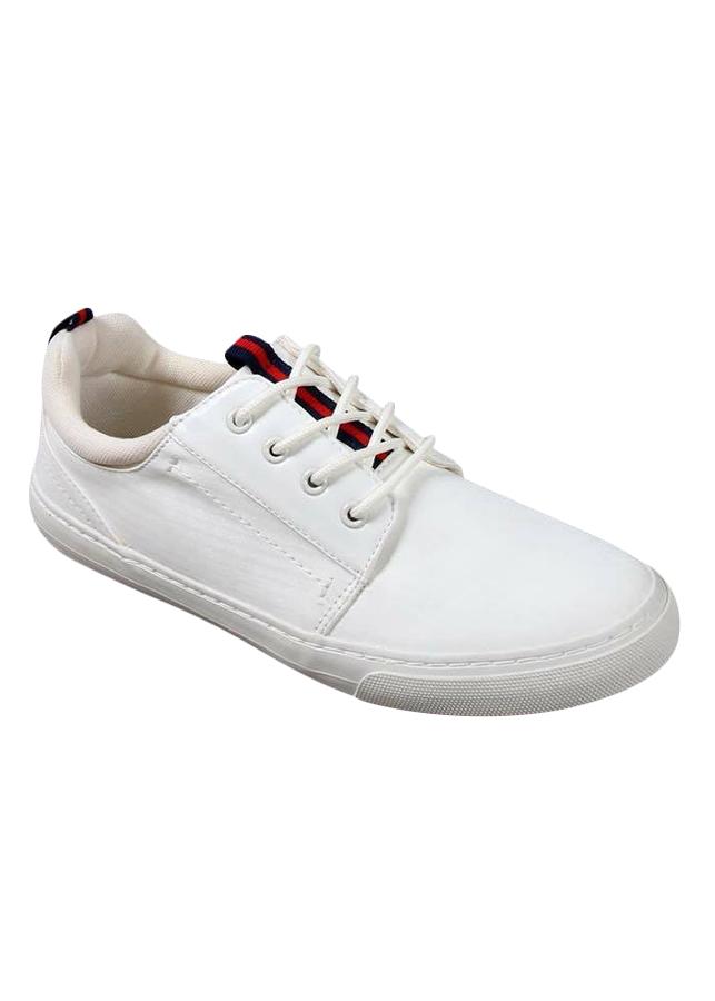 Giày Sneaker Nam Cox Shoes - Trắng Viền Đỏ - 817886 , 8057469751273 , 62_10735682 , 555000 , Giay-Sneaker-Nam-Cox-Shoes-Trang-Vien-Do-62_10735682 , tiki.vn , Giày Sneaker Nam Cox Shoes - Trắng Viền Đỏ