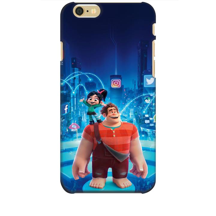 Ốp lưng dành cho điện thoại IPHONE 6 hình Big Hero Mẫu 01