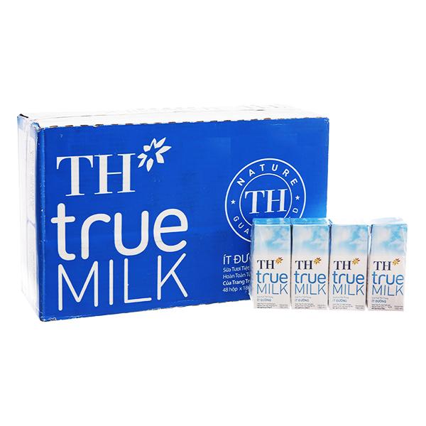 Thùng Sữa tươi tiệt trùng Ít đường TH True Milk (180ml x 48 hộp) - 9558458 , 6140621161187 , 62_14934704 , 384000 , Thung-Sua-tuoi-tiet-trung-It-duong-TH-True-Milk-180ml-x-48-hop-62_14934704 , tiki.vn , Thùng Sữa tươi tiệt trùng Ít đường TH True Milk (180ml x 48 hộp)
