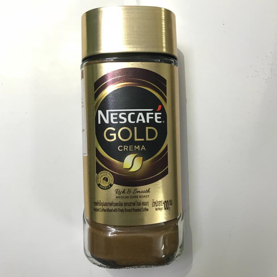 Cà Phê Hòa Tan Kết Hợp Rang Xay Nescafe Gold Crema - 1138809 , 3643570280020 , 62_4419459 , 180000 , Ca-Phe-Hoa-Tan-Ket-Hop-Rang-Xay-Nescafe-Gold-Crema-62_4419459 , tiki.vn , Cà Phê Hòa Tan Kết Hợp Rang Xay Nescafe Gold Crema