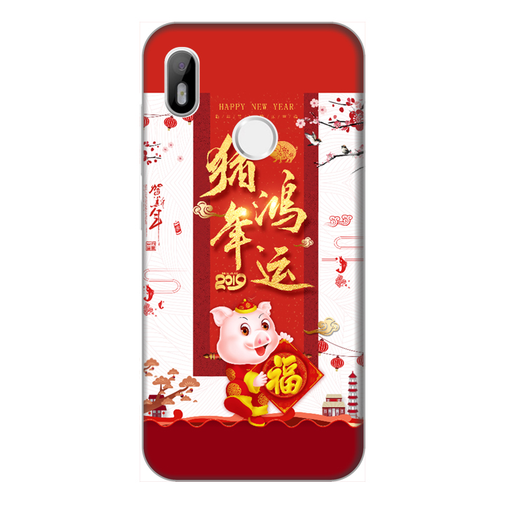 Ốp lưng điện thoại Vsmart Joy 1 hình Heo Xuân Chúc Tết - Hàng chính hãng